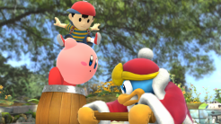 Smash Direct | Ness, Kirby and Dedede