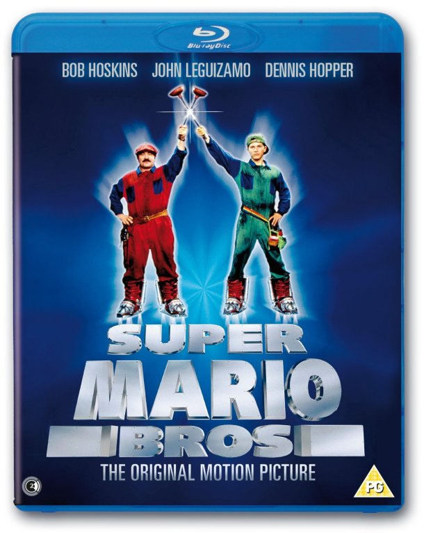 Super Mario Bros Movie - Blu-ray Cover