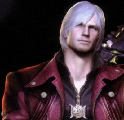 Smash Bros Mii fighter - Dante pic