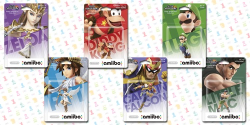 amiibo Second Batch | Super Smash Bros. Dated for West