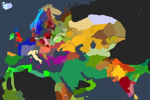 Crusader Kings II | World Map