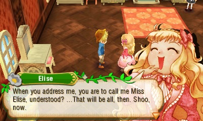 Story of Seasons | Elise Laughing