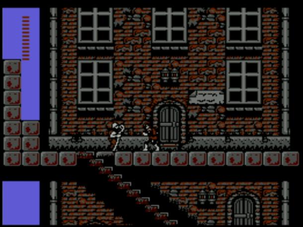 Castlevania II: Simon's Quest | Starting Screen