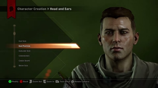 Dragon Age: Inquisition | Character Creation