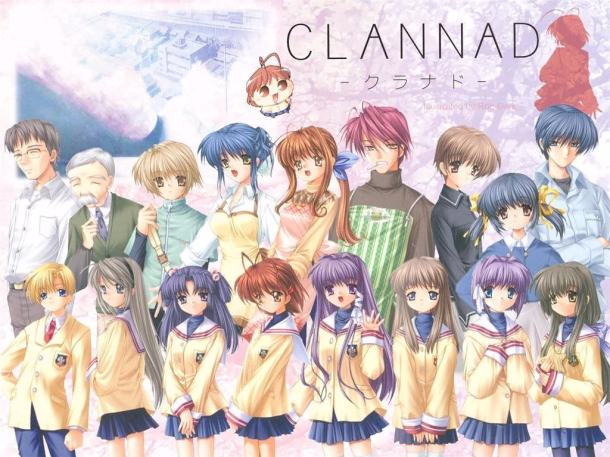 Clannad Novel  Visual | oprainfall
