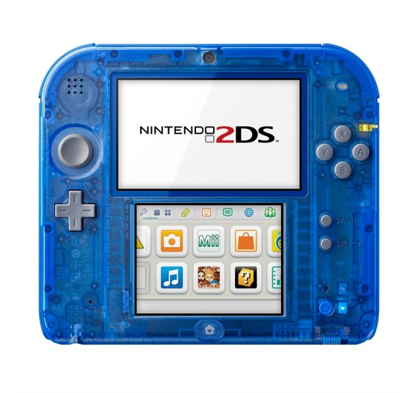 Crystal Blue Nintendo 2DS | Nintendo 3DS Family
