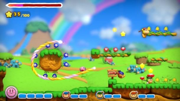 Kirby and the Rainbow Curse 09