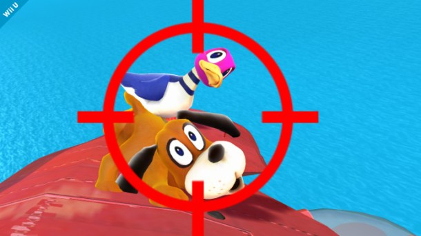 Super Smash Bros. for Wii U - Duck Hunt