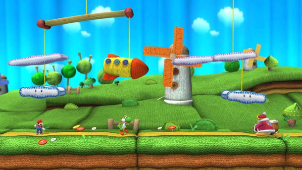 Smashing Saturdays - Super Smash Bros.   Woolly World Level