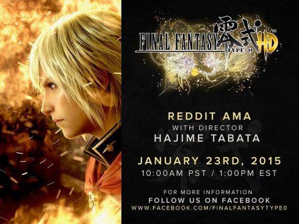 Reddit AMA With Hajime Tabata | oprainfall