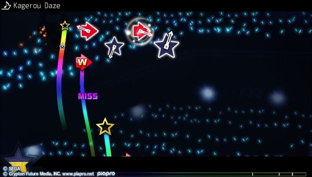 Hatsune Miku Project Diva F 2nd | Star Example