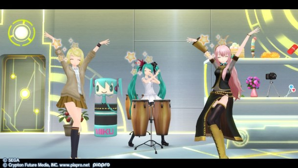 Hatsune Miku Project Diva F 2nd | Bongos