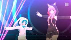 Hatsune Miku: Project Diva F 2nd   Miku and Luka Costumes