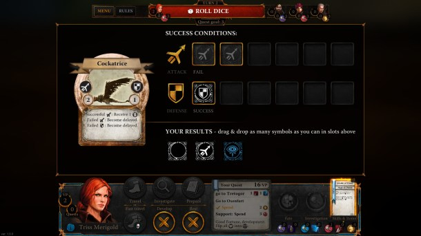 The Witcher Adventure Game | Battle System