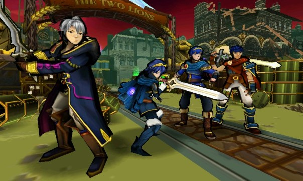 Code Name S.T.E.A.M. - Fire Emblem Characters