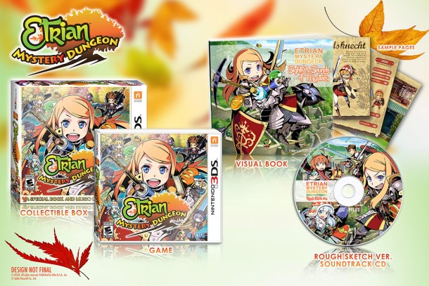 Etrian Mystery Dungeon - Launch Edition | oprainfall