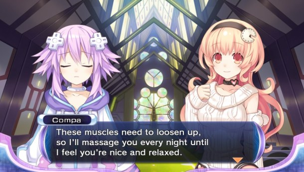 Hyperdimension Neptunia ReBirth2 Nep | Massage