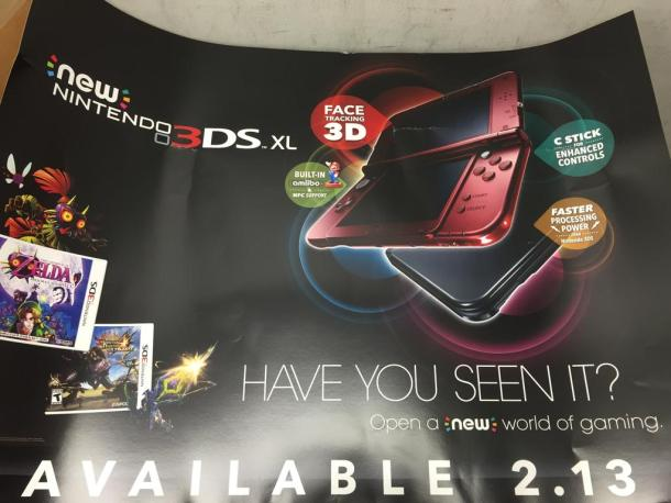 New 3DS Marketing Leak - Nintendo Direct