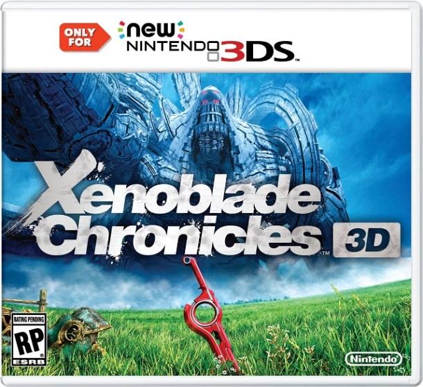Xenoblade Chronicles 3D Box Art