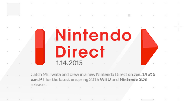 Nintendo Direct - January 14, 2015