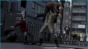 Yakuza 4 | Saejima Throw