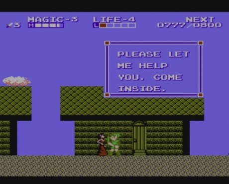 Zelda II: Adventure of Link | Healer