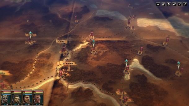 Blackguards 2 | Map Screen