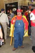 Rare to see Mario with SMW cape.