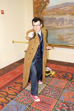 Despite the fact that we're on the 12th Doctor, every Whovian loves themselves some David Tennant.