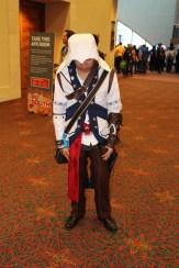 A crestfallen Ezio Auditore da Firenze given what's been happening in Assassin's Creed.