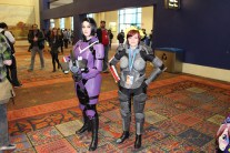 These are Commander Sheppards and PAX South is their favorite con to go to on the Citadel.