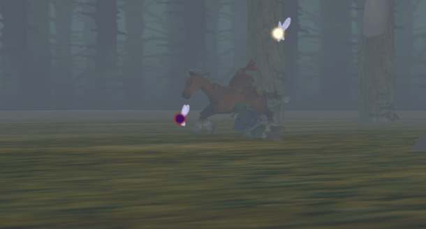 The Legend of Zelda: Majora's Mask   Trying to Hold On