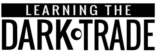 Learning the Dark Trade | Logo
