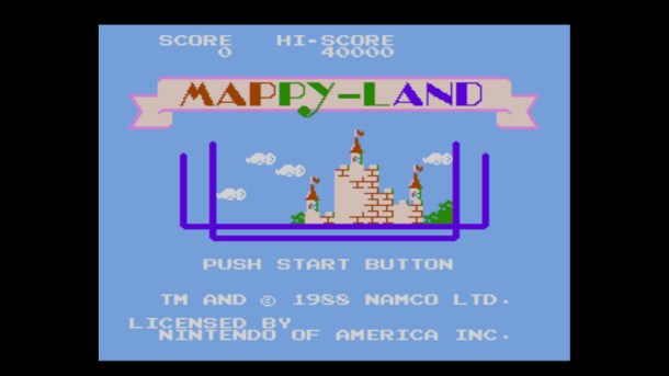 MAPPY-LAND