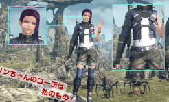 Xenoblade Chronicles X Character Custom 4