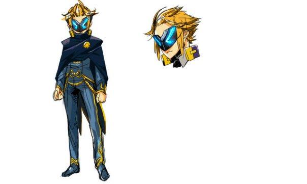 New Art for Azure Striker Gunvolt 2