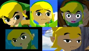 Wind Waker Link Expressions