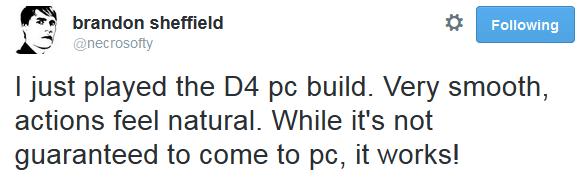 D4 Necrosoft Tweet