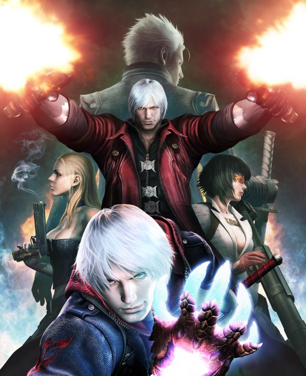 Devil May Cry 4 Special Edition Cast Art