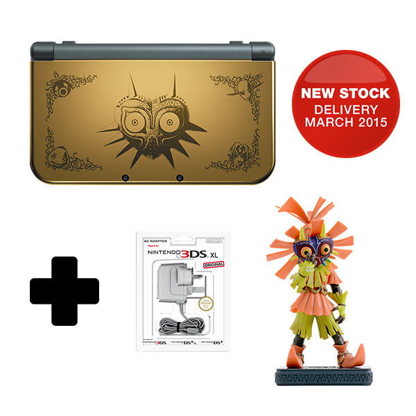 Majora's Mask Edition New 3DS | UK Bundle