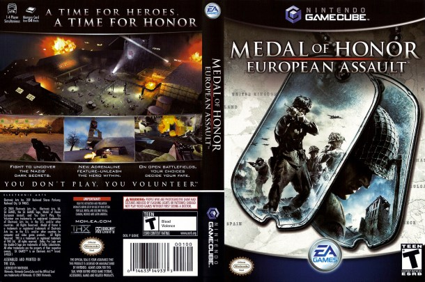 Medal of Honor: European Assault | Cover