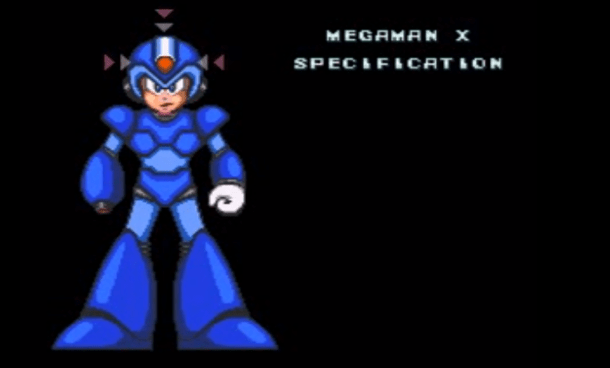 Building Character - Mega Man X   Specs