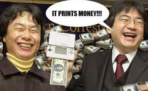 Nintendo DS - It Prints Money