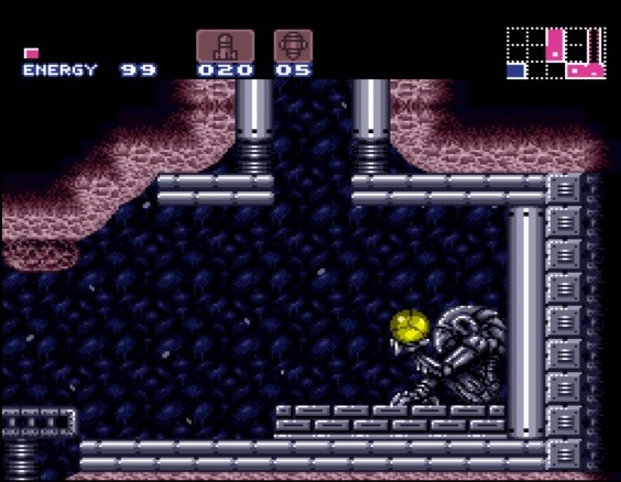 Super Metroid | Chozo Holds Samus
