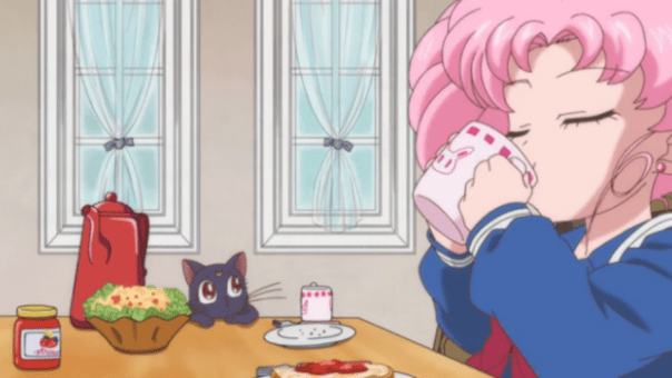 Sailor Moon Crystal Acts 15-18 |Toast that should be in Usagi's mouth