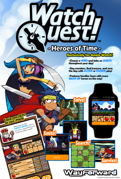 Watch Quest - Wayforward | oprainfall