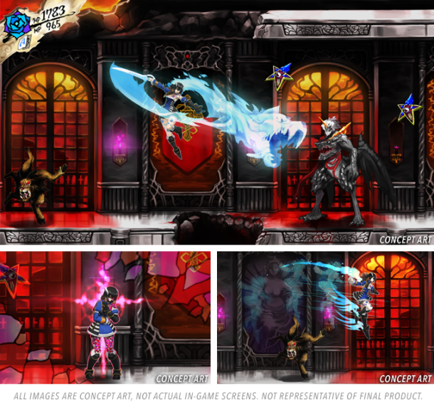 Bloodstained: Ritual of the Night   oprainfall