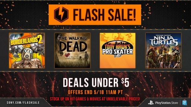 PSN Flash Sale | oprainfall