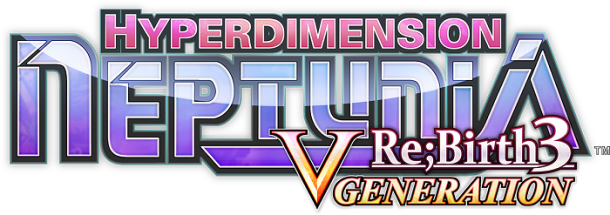 Hyperdimension Neptunia Re;Birth 3 Logo