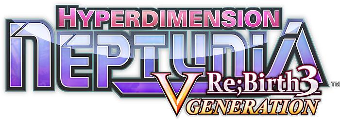 Hyperdimension Neptunia Re;Birth 3 Logo